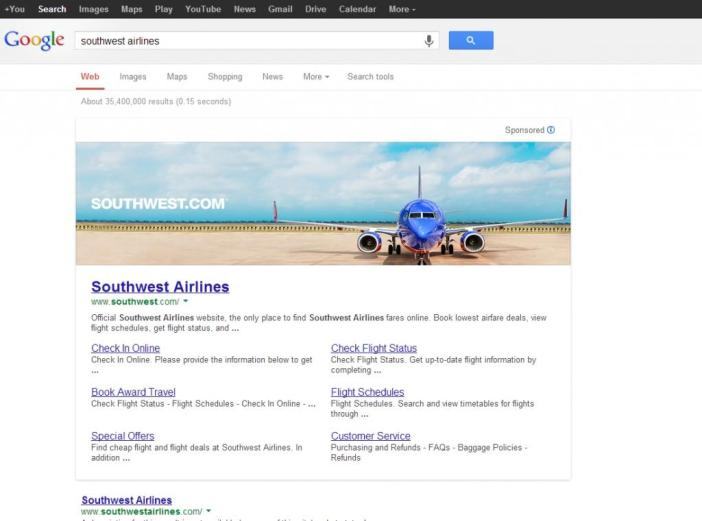 Google Tests Banner-Like Ads in Search Results